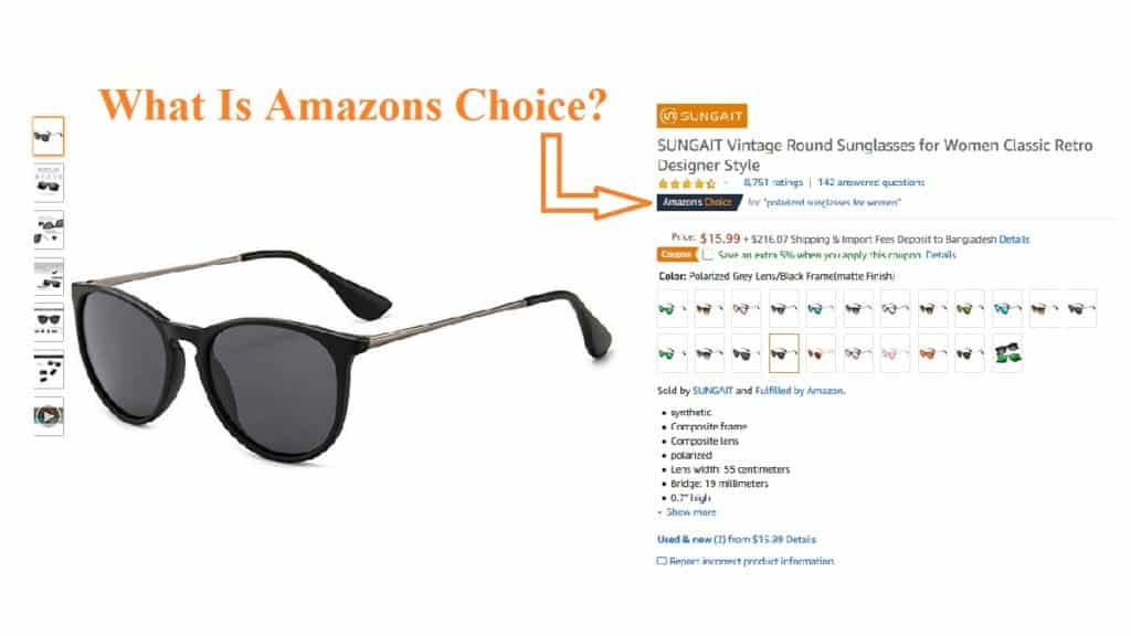 What Is Amazons Choice