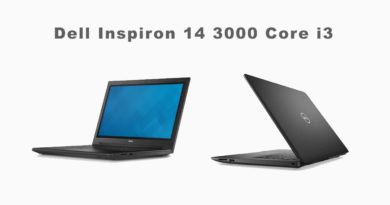 Dell Inspiron 14 3000 Core i3 Laptop