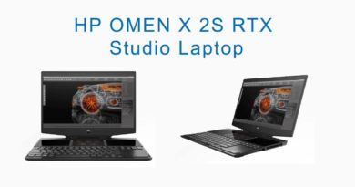 HP OMEN X 2S RTX Studio Laptop