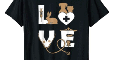 Vet Tech Love Animal Veterinarian Technician T Shirt T-Shirt