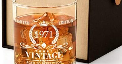 1971 49th Birthday Gifts for Men, Vintage Whiskey Glass 49 Birthday Gifts for Dad, Son, Husband, Brother, Funny 49th Birthday Gift Present Ideas for Him, 49 Year Old Bday Party Decoration