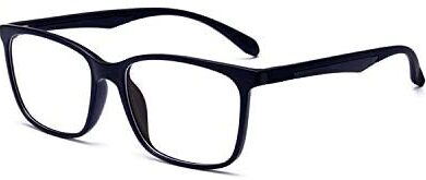 ANRRI Blue Light Blocking Glasses Lightweight Eyeglasses Frame Filter Blue Ray Computer Game Glasses