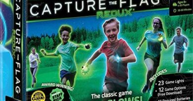 Capture The Flag Redux: The Original Glow-in-The-Dark Outdoor Game for Birthday Parties, Youth Groups and Team Building Ð a Unique Gift for Teen Boys & Girls