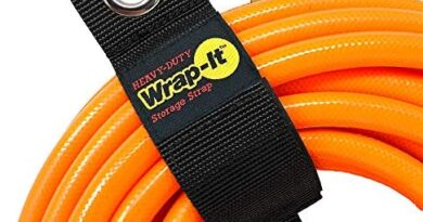 Heavy-Duty Wrap-It Storage Straps (Assorted 6 Pack) - Hook and Loop Extension Cord Organizer Hanger, Cord Wrap Keeper, Cable Straps for Cords, Hoses, Rope, RV, Boat and Garage Storage and Organization