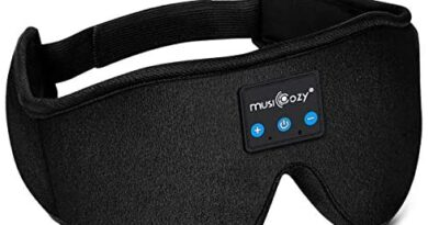 MUSICOZY Sleep Headphones Bluetooth Wireless Sleeping Eye Mask, Office Travel Unisex Birthday Gifts Men Women Who Have Everything Top Cool Tech Gadgets Unique Mom Dad Her Him Adults Teen Boys Girls