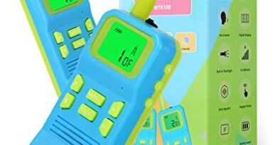 OMWay Kids Toys Walkies Talkies for 3 4 5 6 7 8 9 10 Year Old Boys,Best Christmas Birthday Gifts for Boys Age 3-12.