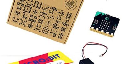 Tech Will Save Us BBC Micro:bit Starter Pack | Educational Coding Kit, Pocket Sized Programmable Computer, Gift for Boys, Girls, Teens, Kids, Ages 11 and up
