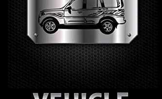 VEHICLE MAINTENANCE LOG: Beautiful Metallic Looking Cover | Logbook To Keep A Track Record Of Repairs & Automotive Mechanical Details Such As Oil ... Keep Your Favorite Vehicle Running Smoothly.