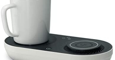 Wireless Qi-Certified Fast Charger with Mug Warmer/Drink Cooler | Nomodo